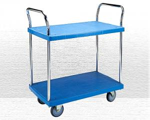 2 Shelf Plastic Trolley Model no. PHL-422GS